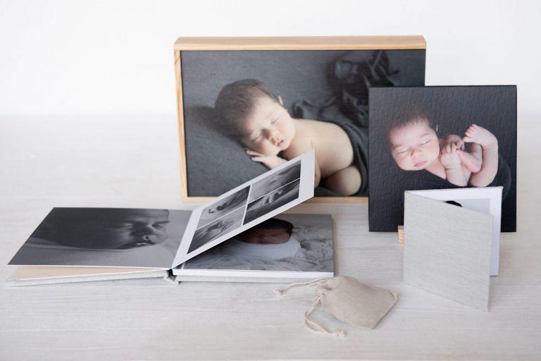 Album fotos newborn