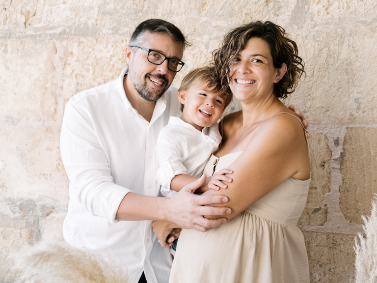 fotos embarazo mallorca familia