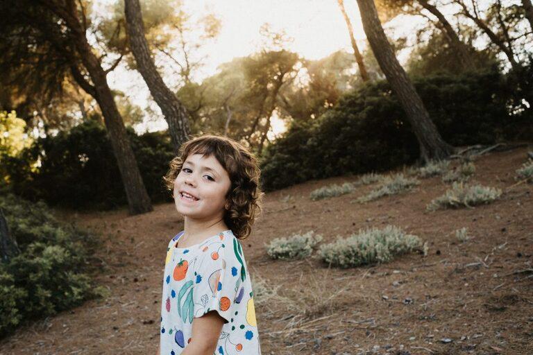 sesión de fotos infantil en Mallorca en exterior
